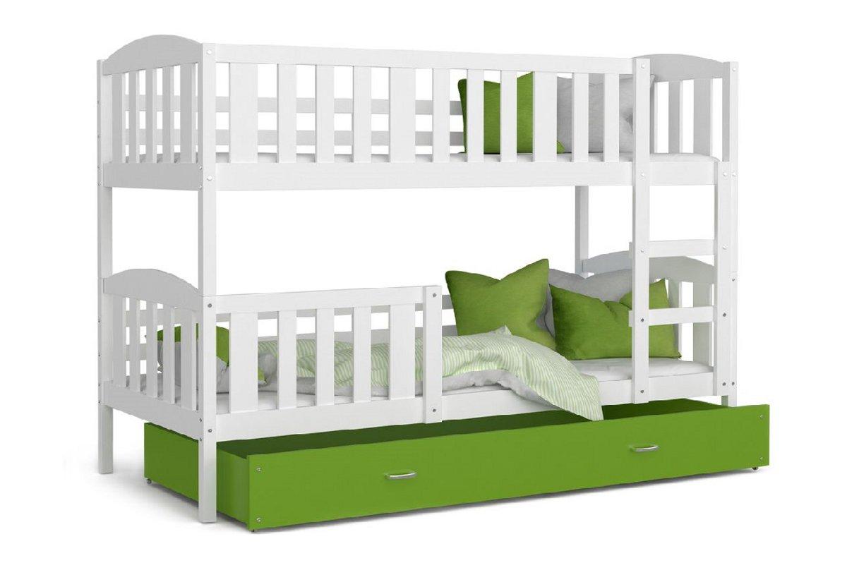 ed75d8095157 Detská poschodová posteľ KUBUS color + matrac + rošt