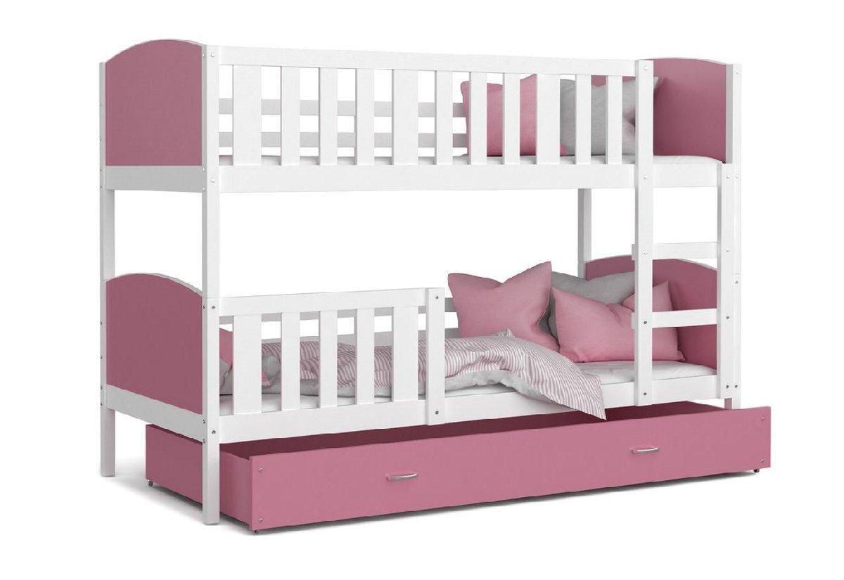 10516e2187ef Detská poschodová posteľ TAMI color + matrac + rošt